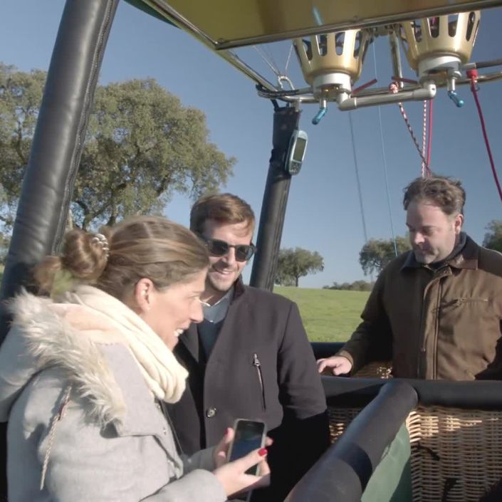 Take a Balloon Ride Over Portugal at L'And Vineyards