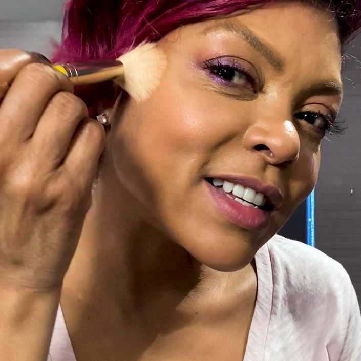 Taraji P. Henson's Joy-Boosting 10 Minute Beauty Routine