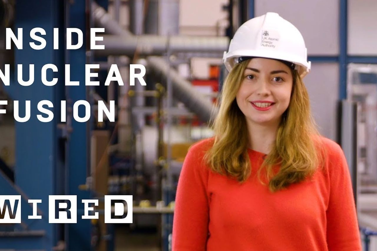 Inside JET: The world's biggest nuclear fusion experiment   On Location