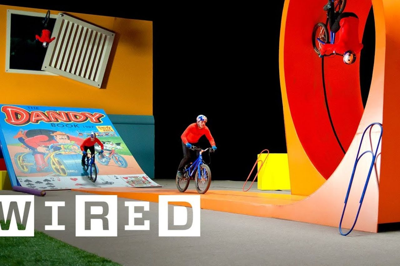 Street stunt rider Danny MacAskill breaks down his most epic tricks   Expert Opinion