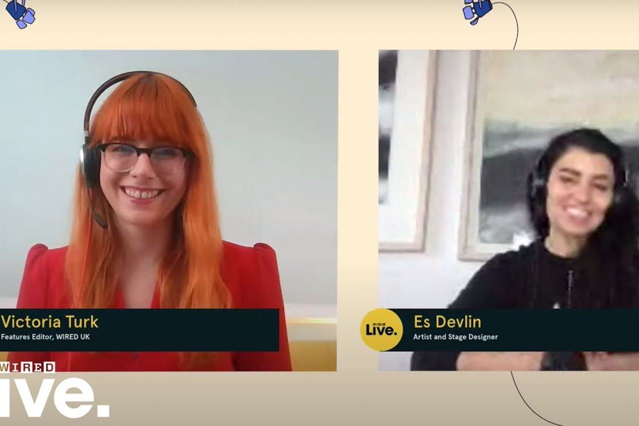 Using AI as a creative tool with artist and stage designer Es Devlin | WIRED Live