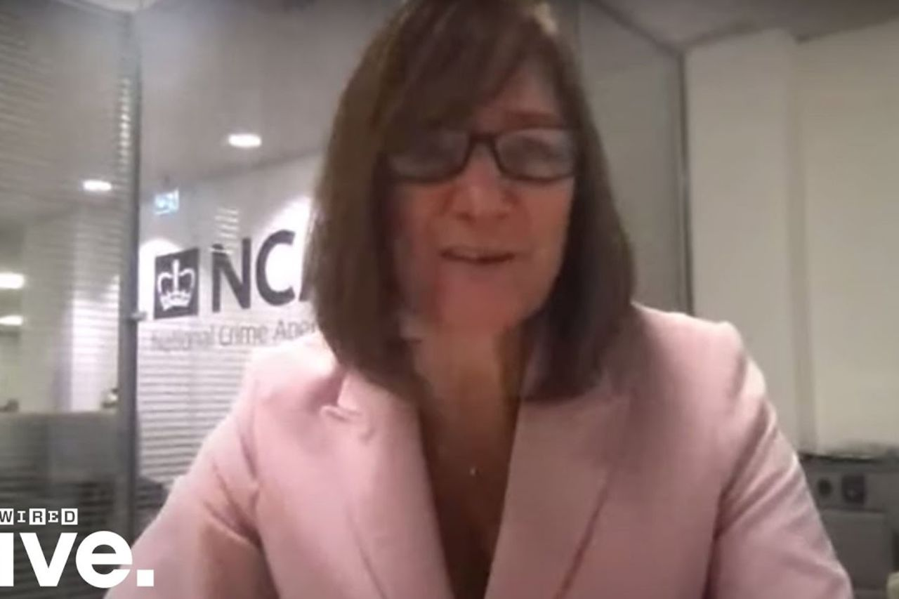 How technology can be used in the fight against crime with the NCA's Lynne Owens | WIRED Live