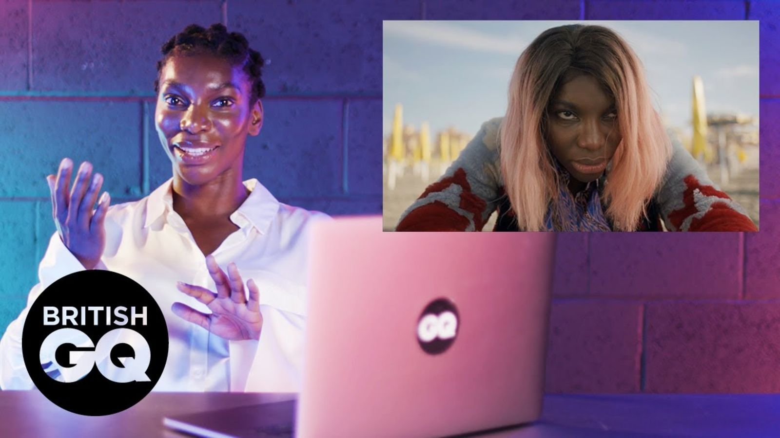 Michaela Coel reacts to I May Destroy You scene