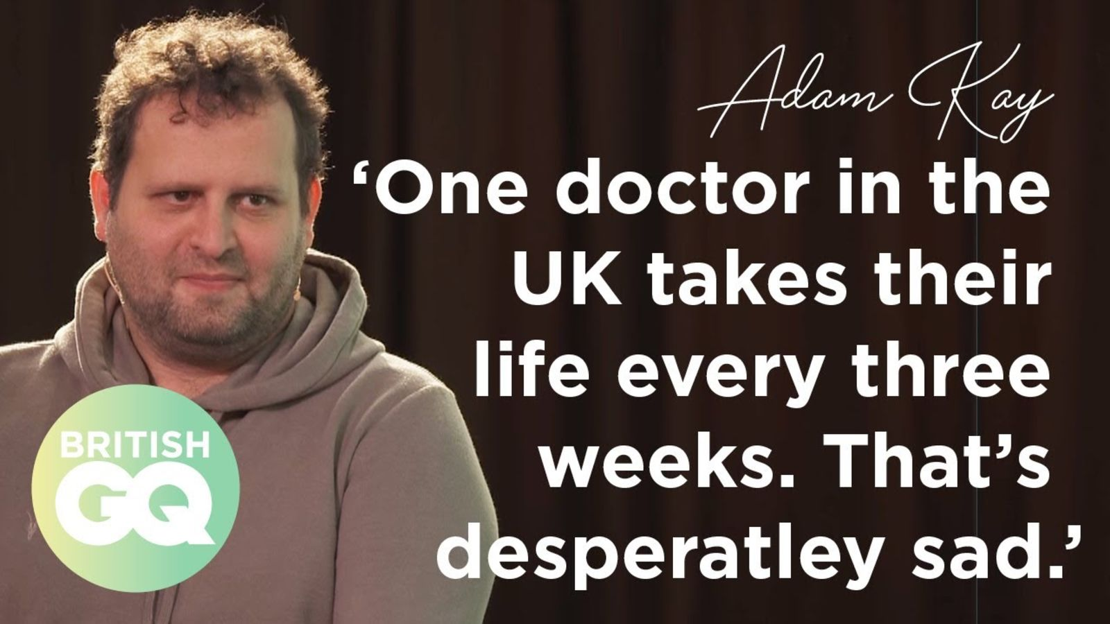 Former Junior Doctor Adam Kay on what the government got wrong in the pandemic