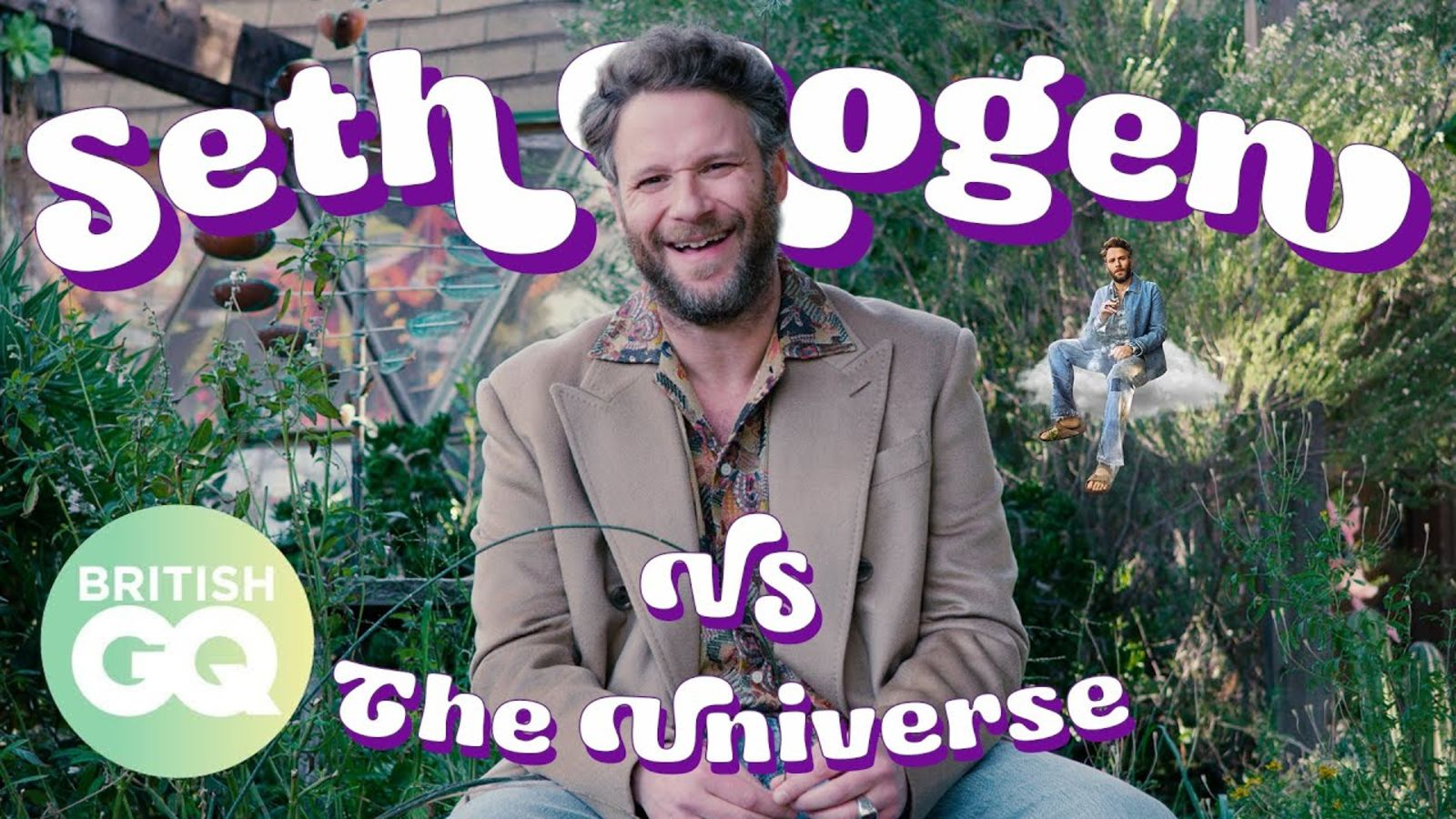 Seth Rogen answers the questions fans really want to know