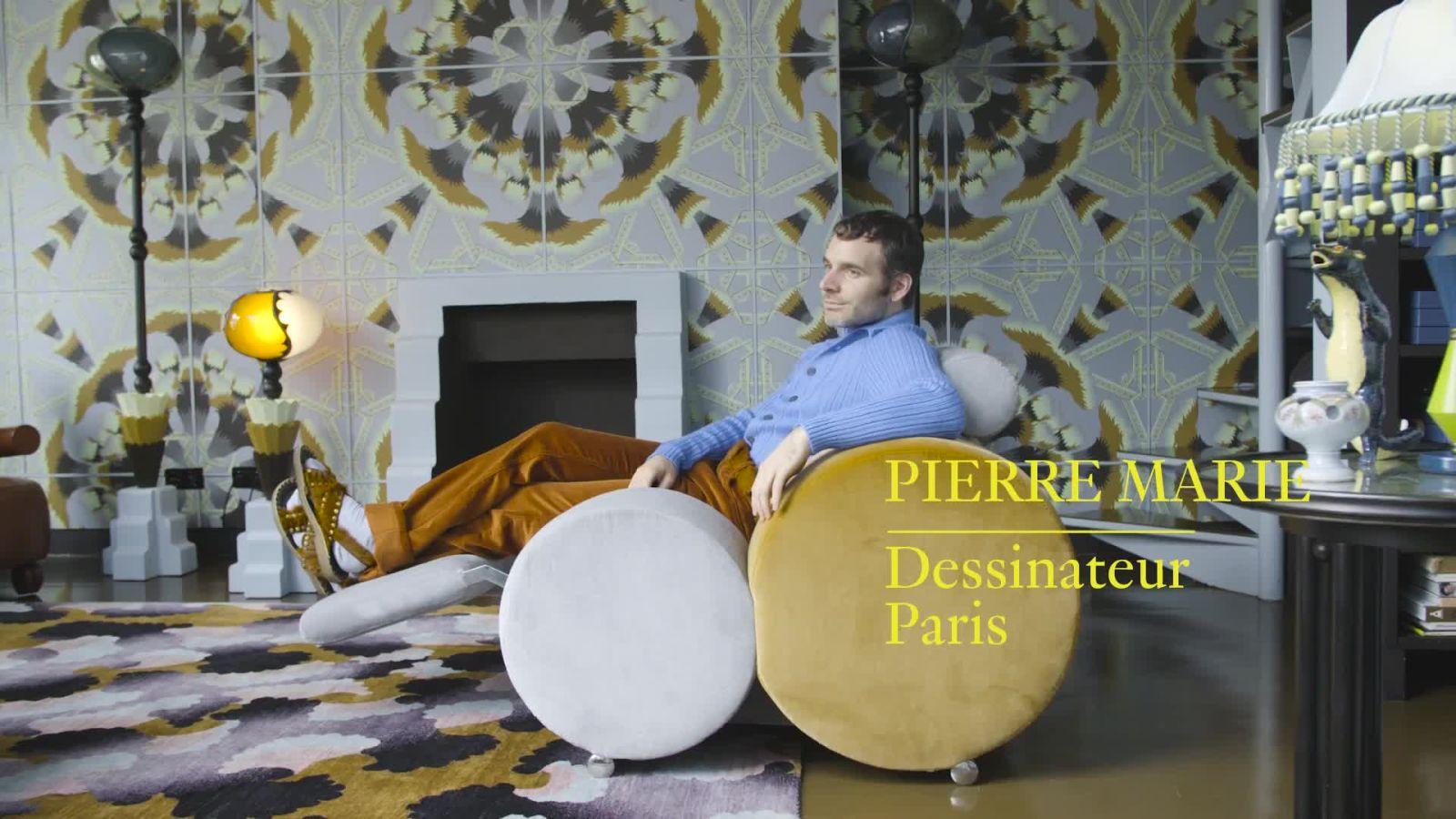 Intérieurs de créateurs : Bienvenue chez Pierre Marie
