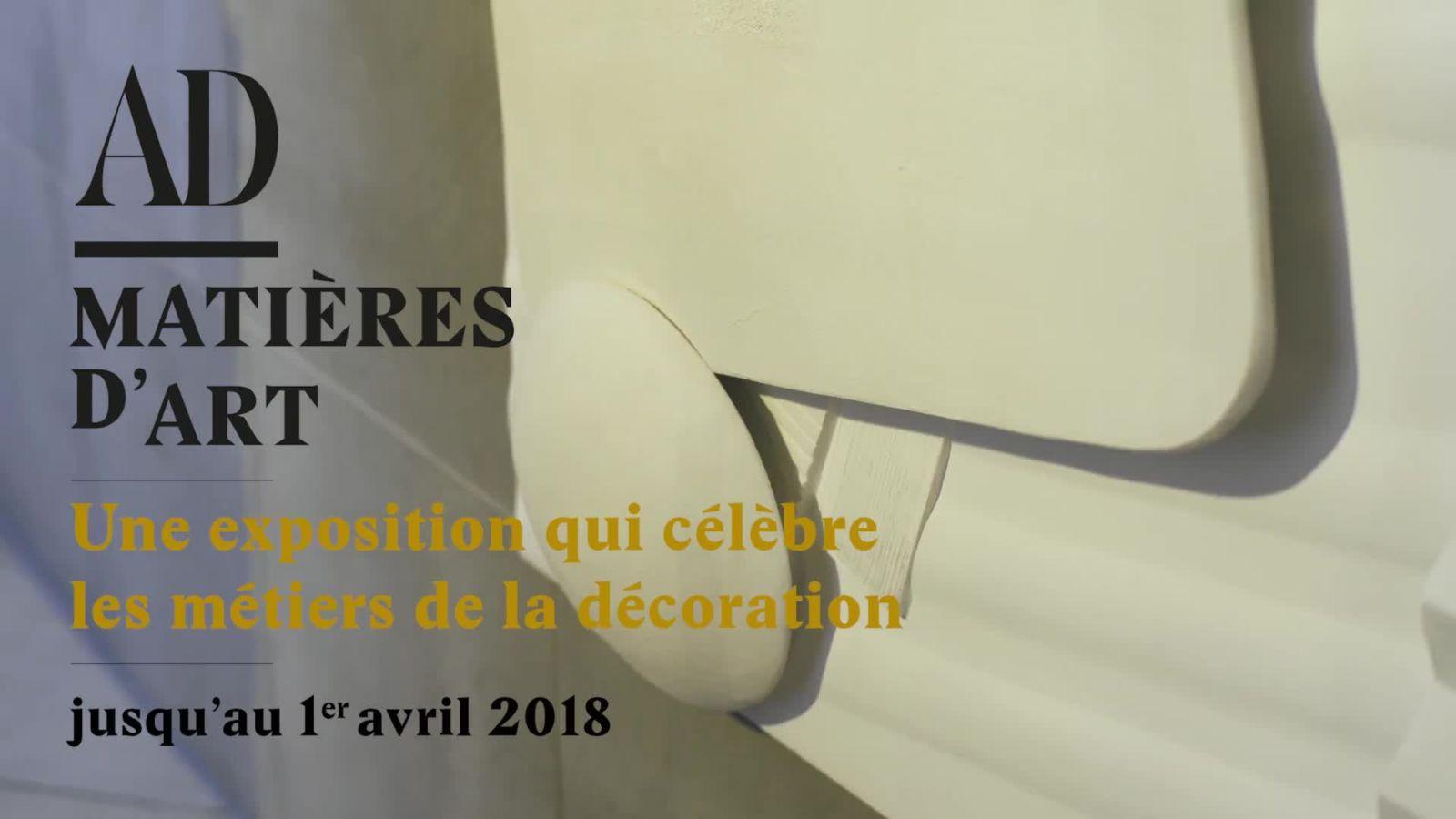 AD Matières d'art au Palais d'Iéna