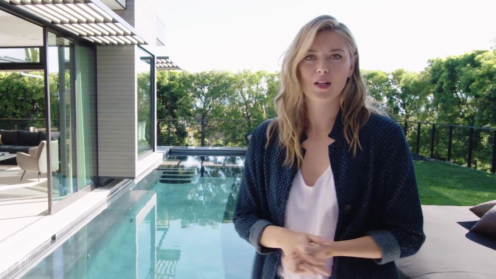 Maria Sharapova nous fait visiter sa maison d'inspiration japonaise