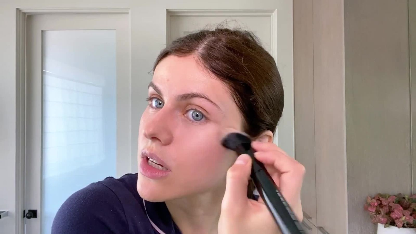 Alexandra Daddario Shares Her Guide to Face Masks and Easy, Everyday Makeup