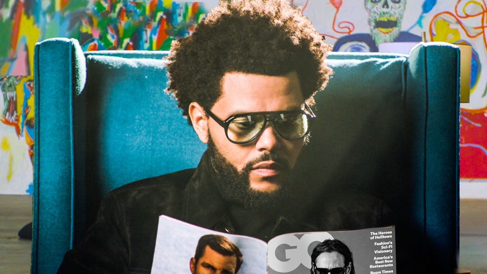 The Weeknd lee GQ hasta que se apagan las luces