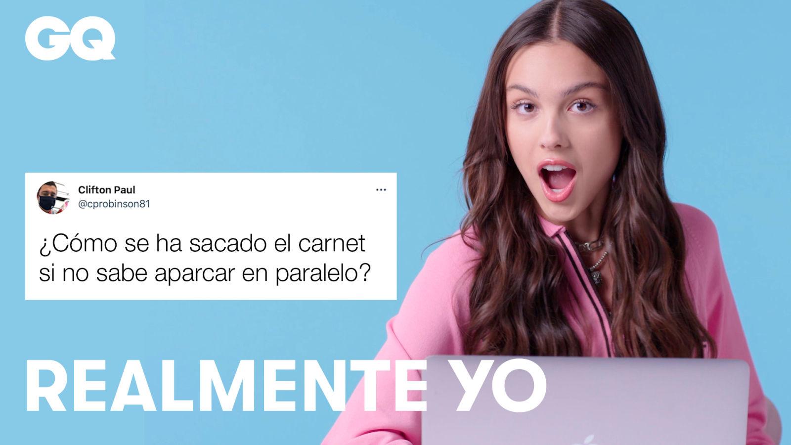 Olivia Rodrigo responde a preguntas de Twitter y Youtube