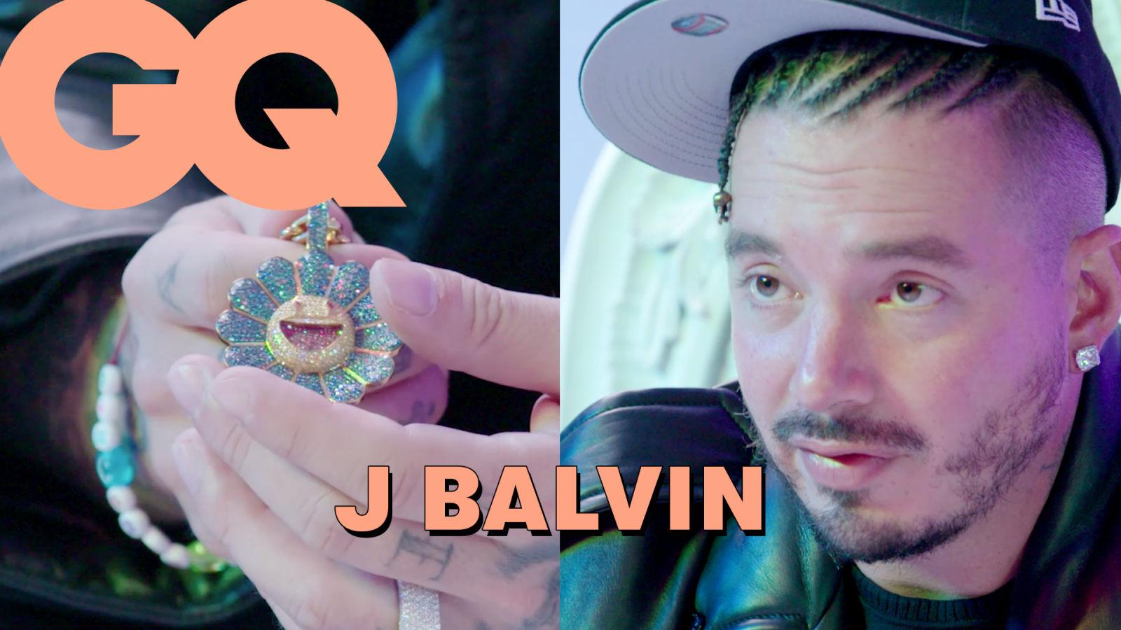 J Balvin dévoile son incroyable collection de bijoux : Medellín, Colores, Murakami