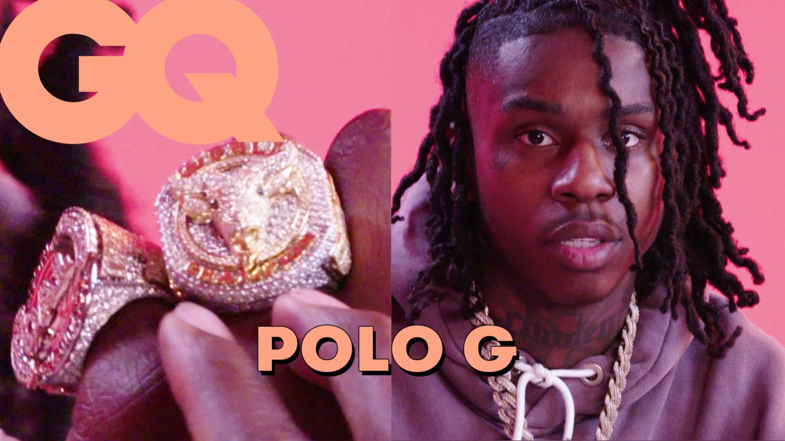 Polo G dévoile son incroyable collection de bijoux : Rolex, Audemars Piguet, NBA