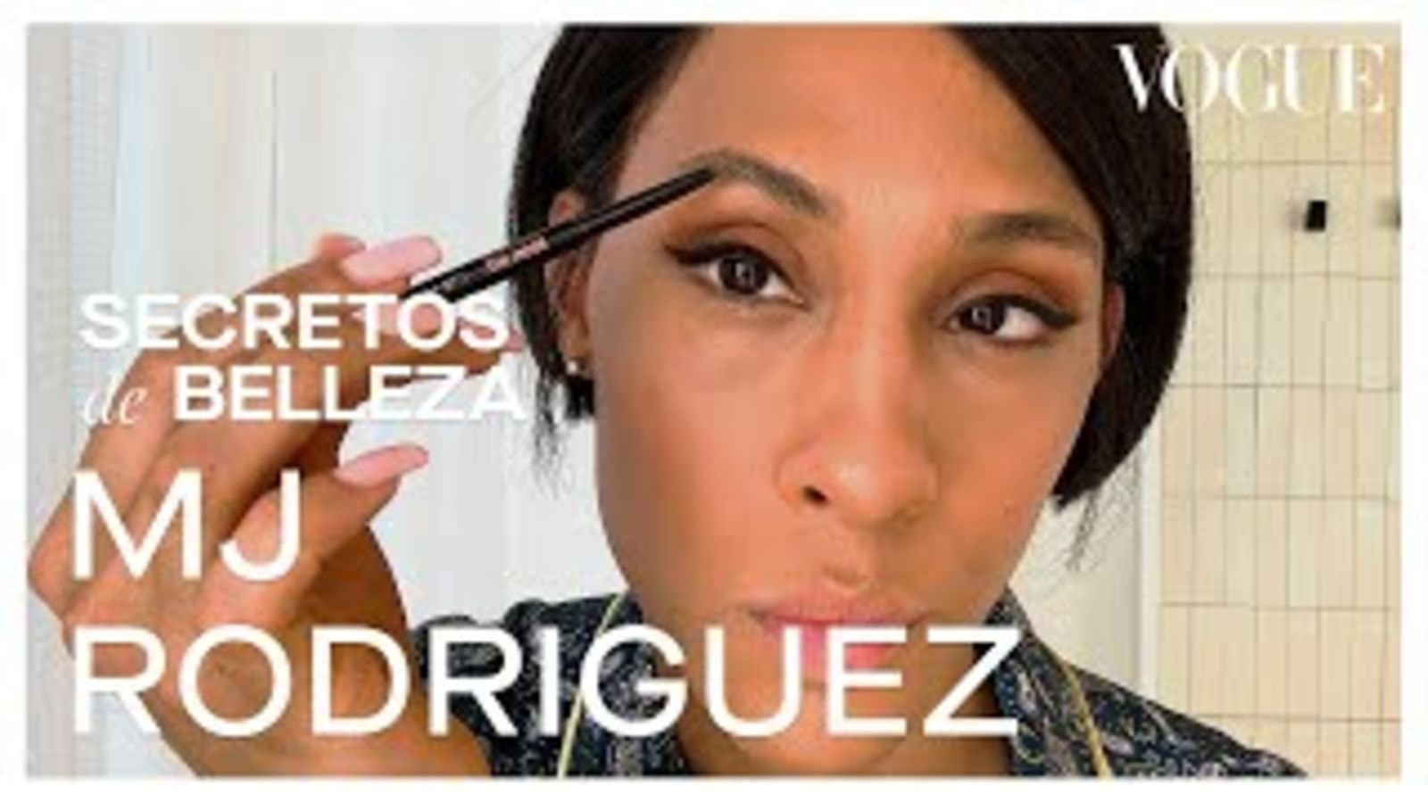 La guía de MJ Rodriguez para un look natural | Secretos de Belleza | Vogue México