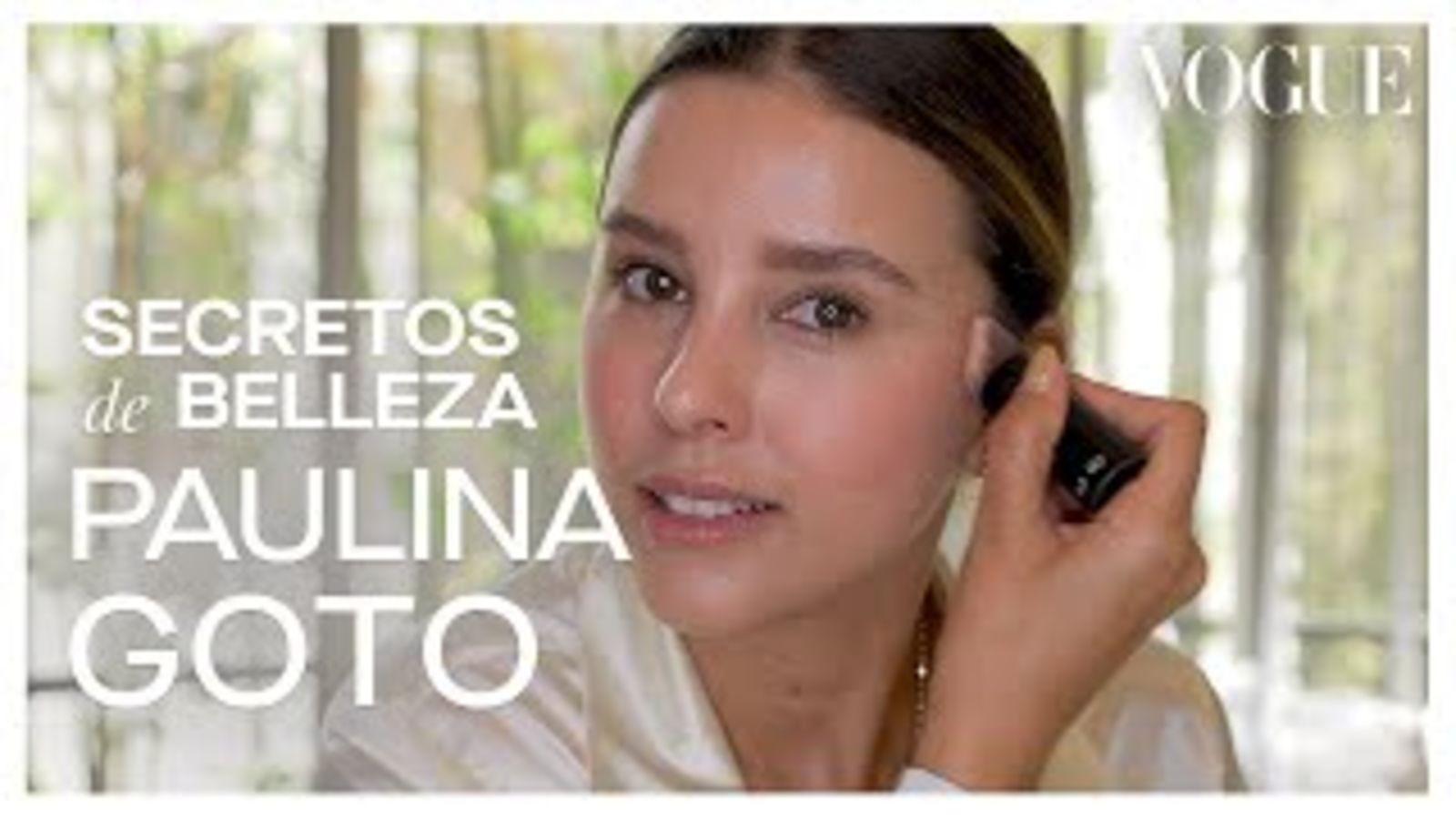 Paulina Goto: Sus secretos de belleza para amantes del maquillaje natural