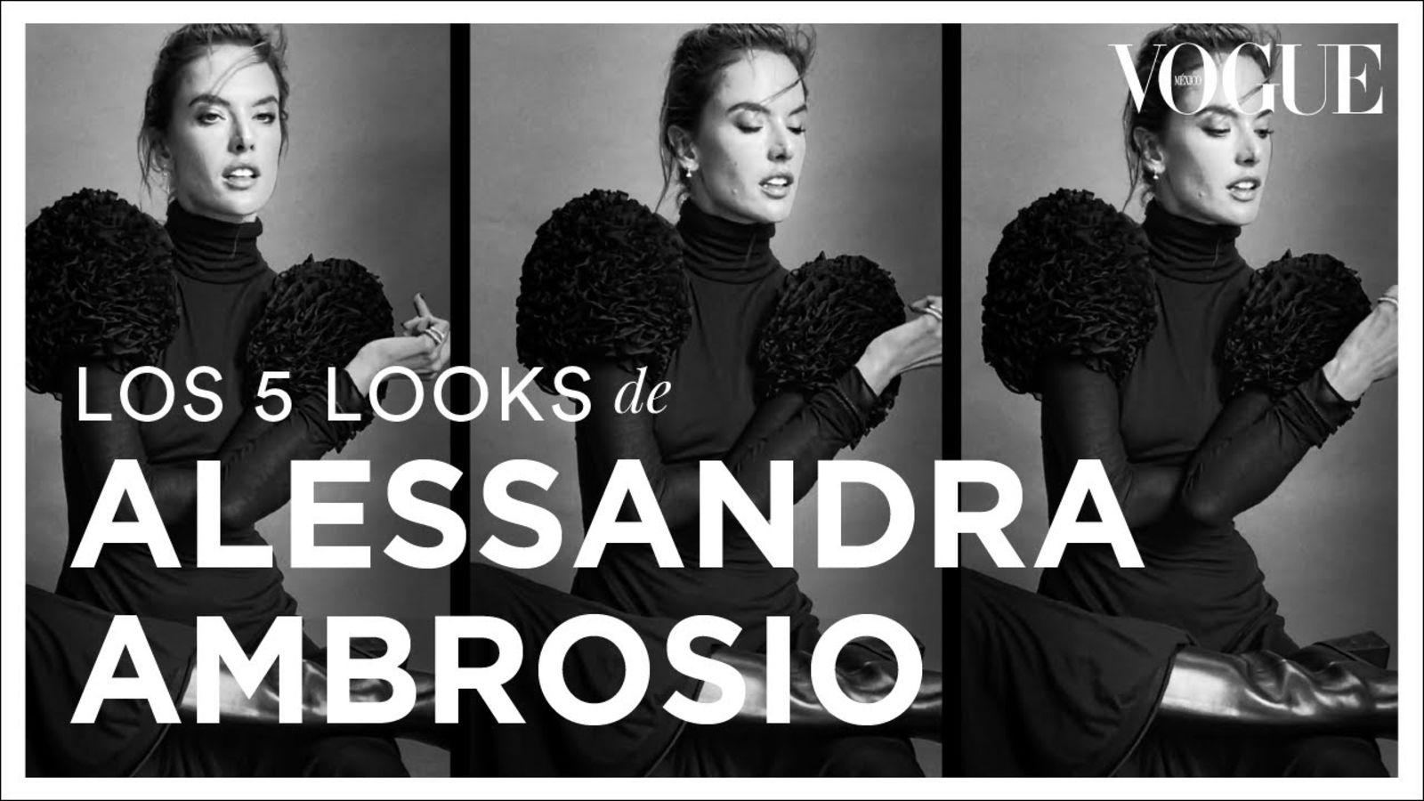 Alessandra Ambrosio y sus looks más elegantes | Vogue México