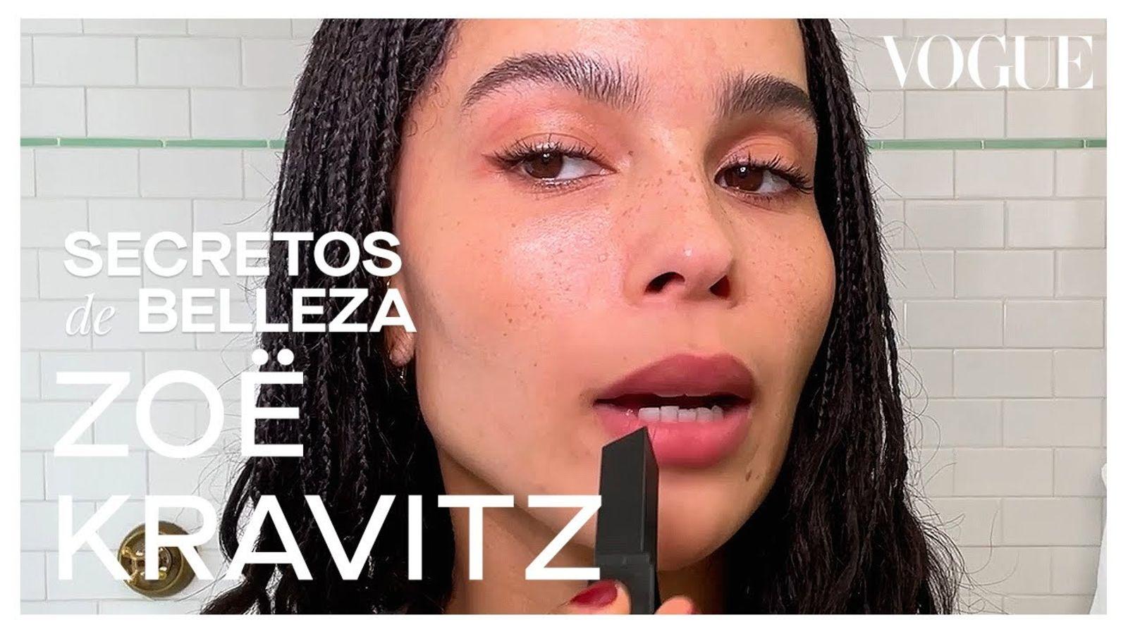 Zoë Kravitz, trucos para lucir como si no llevaras maquillaje | Secretos de Belleza | Vogue México