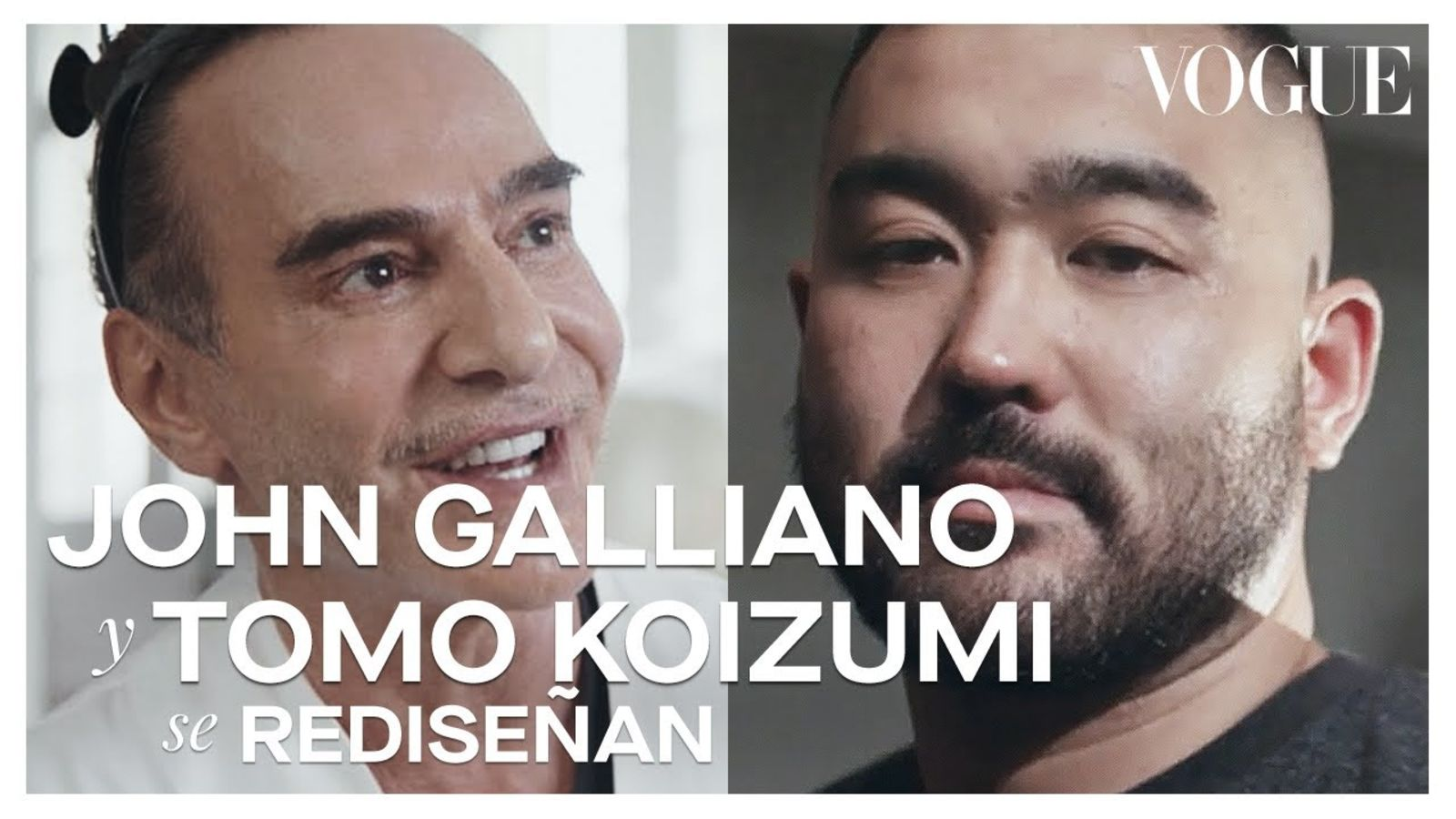 John Galliano y Tomo Koizumi aceptan el reto de reciclarse