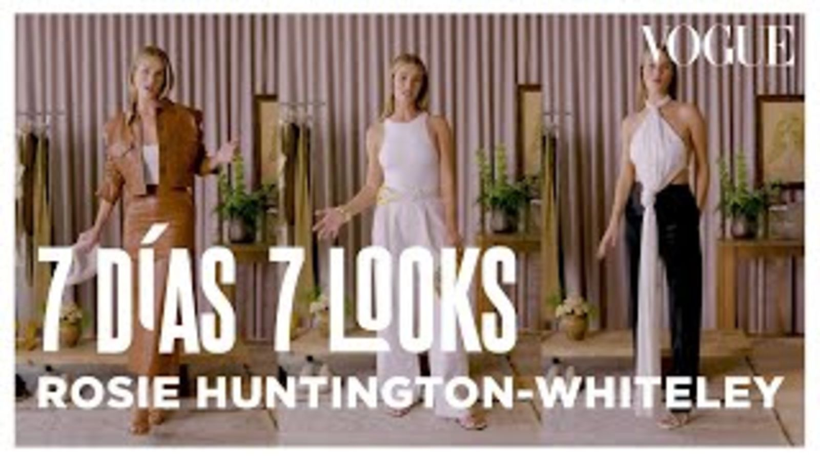 Rosie Huntington-Whiteley y los looks que usa cada día de la semana | 7 días 7 looks | Vogue México