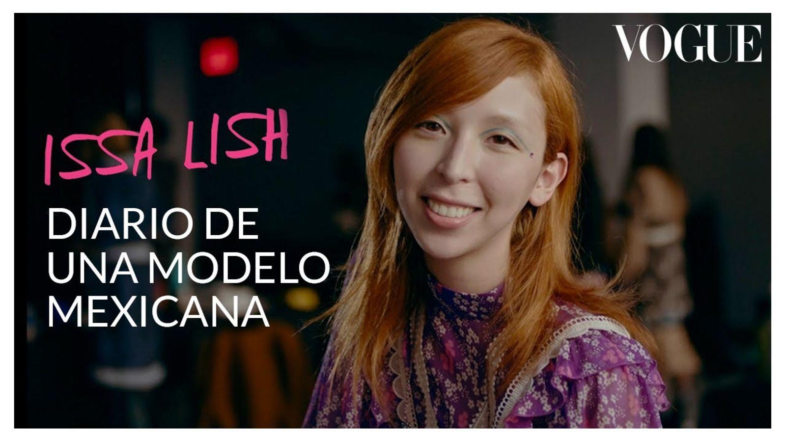 Issa Lish en el diario de una modelo: enseña su preparación para pasarela