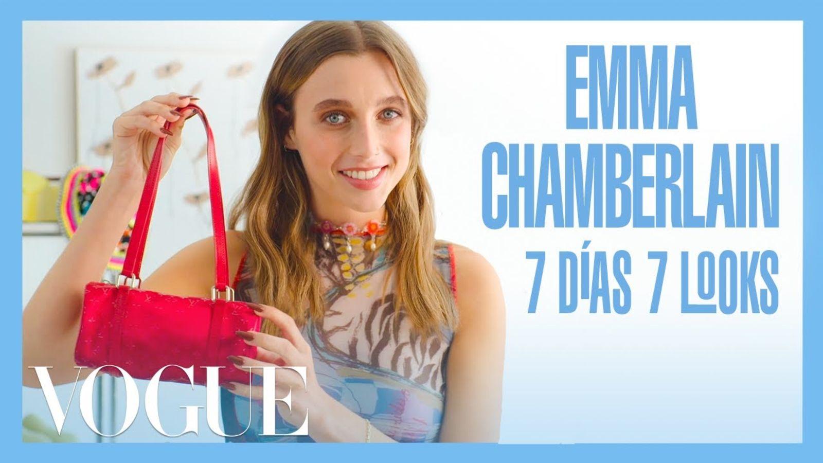 Emma Chamberlain 7 días 7 looks: básicos, atemporales y con aires vintage