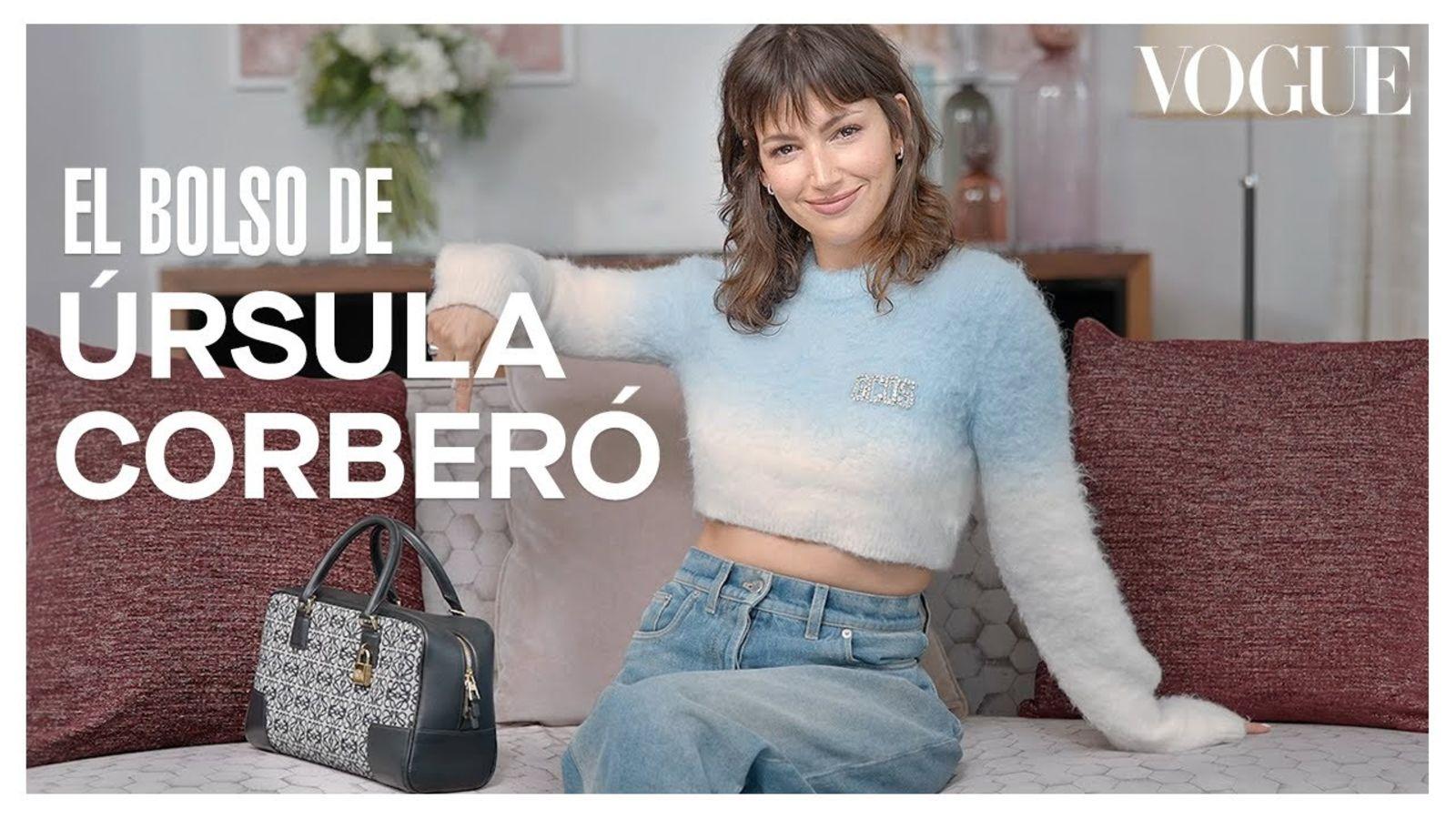 Úrsula Corberó revela lo que lleva en su bolsa y la historia de cada objeto