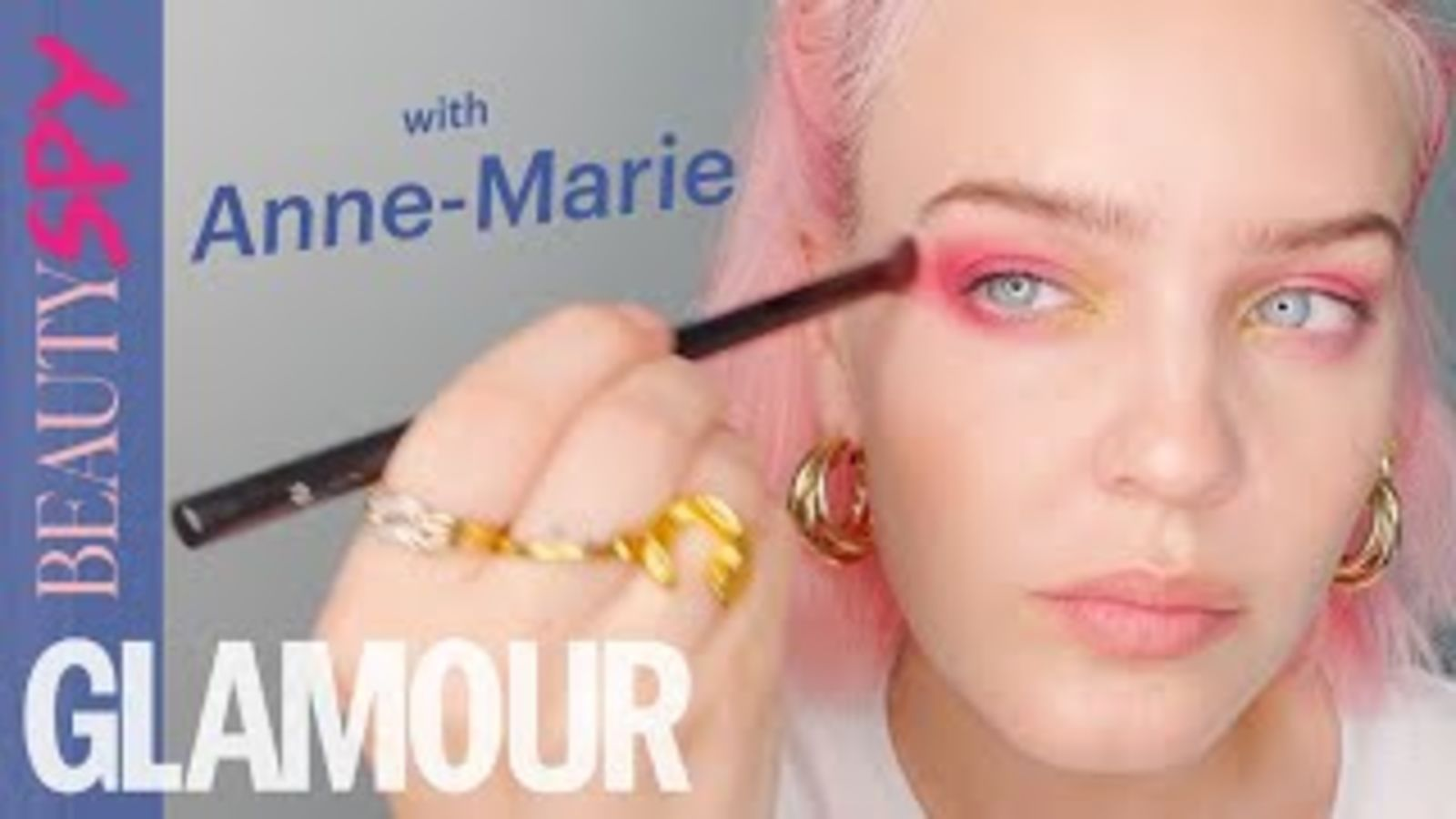 Anne-Marie On Her Pink Hair How-To & Self-Love Journey    GLAMOUR Beauty Spy