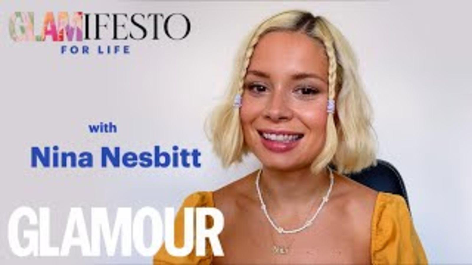 Glamifesto For Life With Nina Nesbitt: On Songwriting, TikTok & Advice   GLAMOUR UK