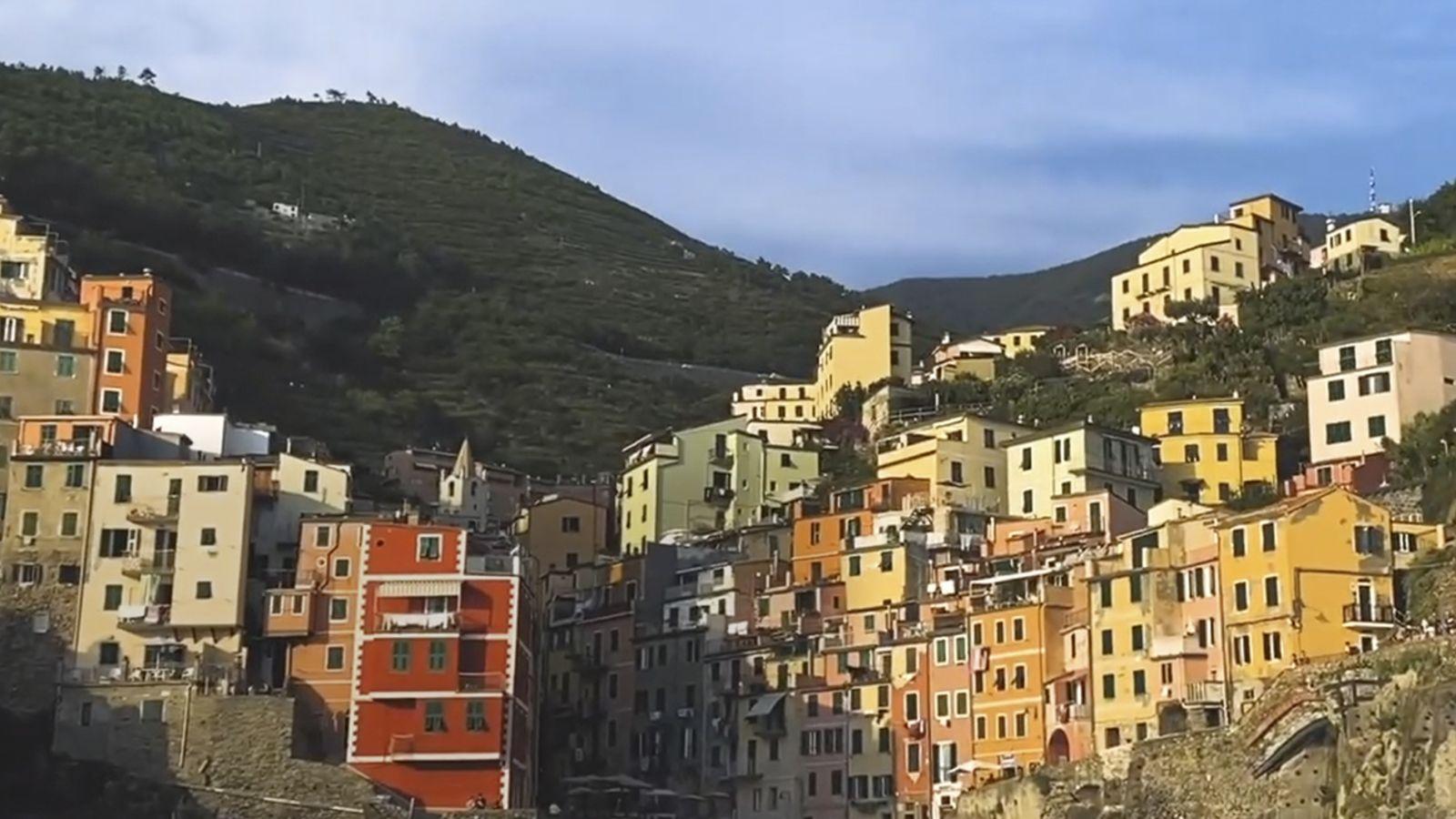Una postal desde Cinque Terre