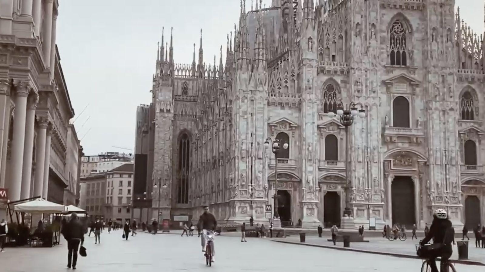 Una postal desde Milán