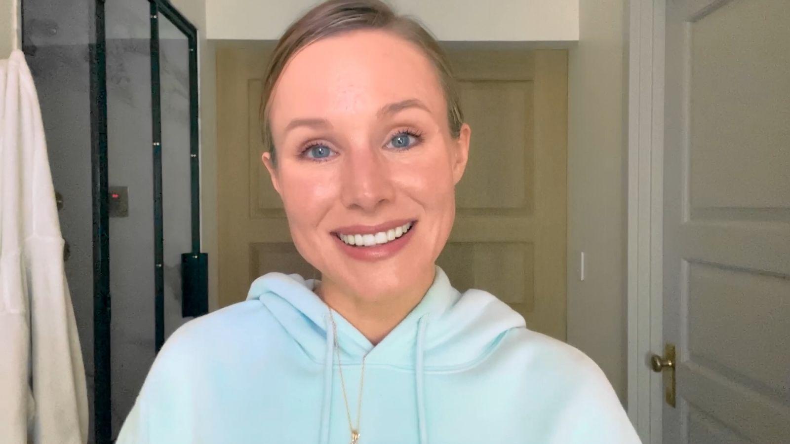 Kristen Bell y su guía antienrojecimiento facial
