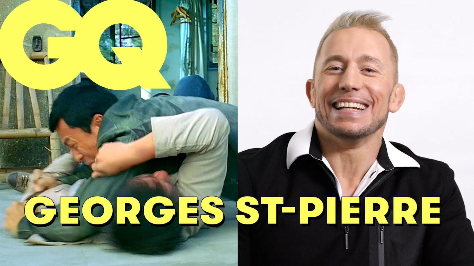 Le combattant de MMA Georges St-Pierre décrypte des scènes de combat au cinéma | The Breakdown |