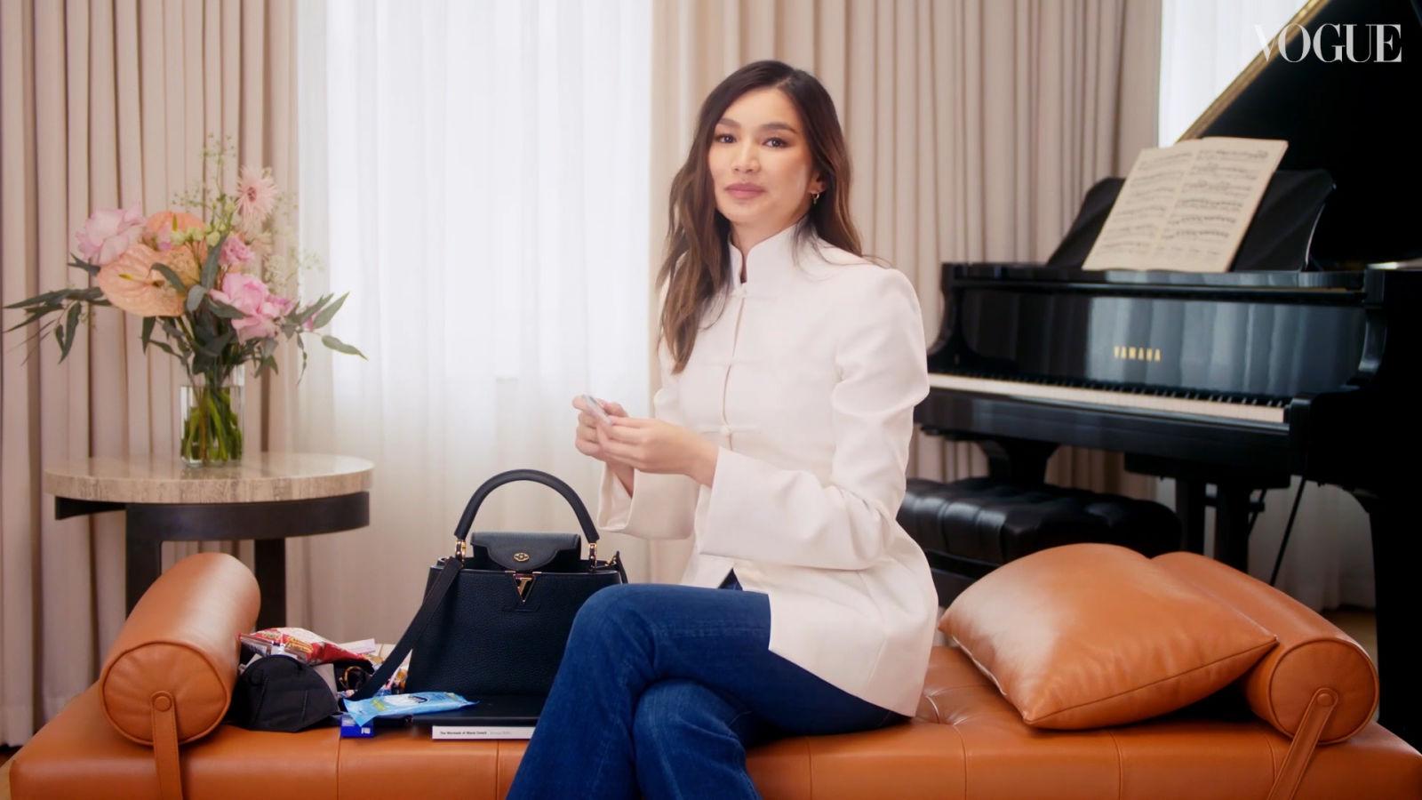 Qué hay en el bolso de Gemma Chan, protagonista de 'Eternals'