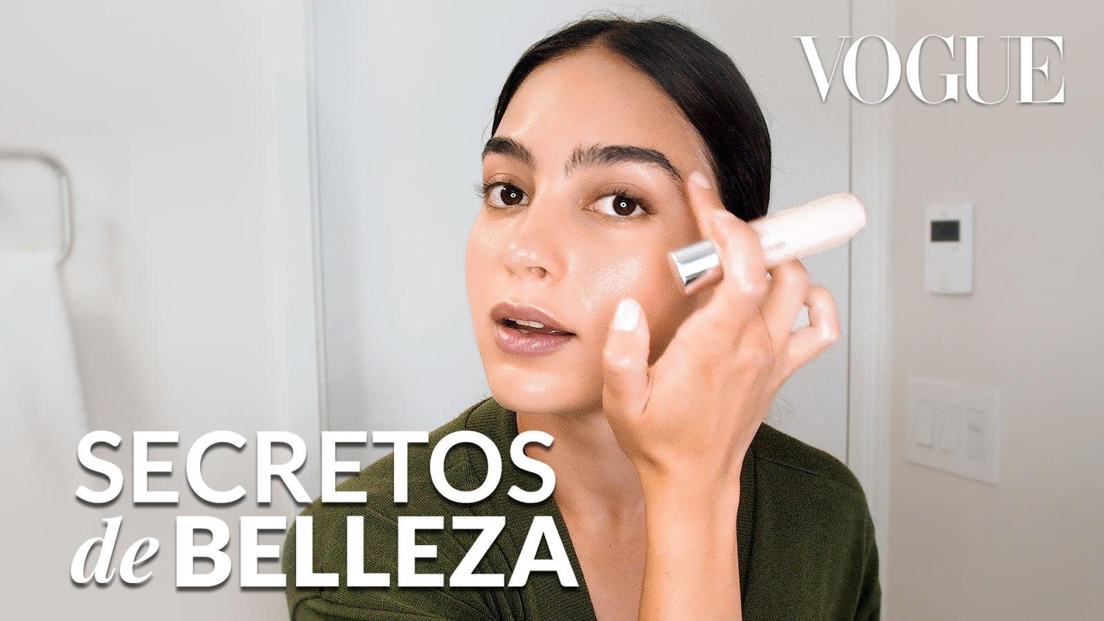 Melissa Barrera y sus secretos de belleza para un no makeup look