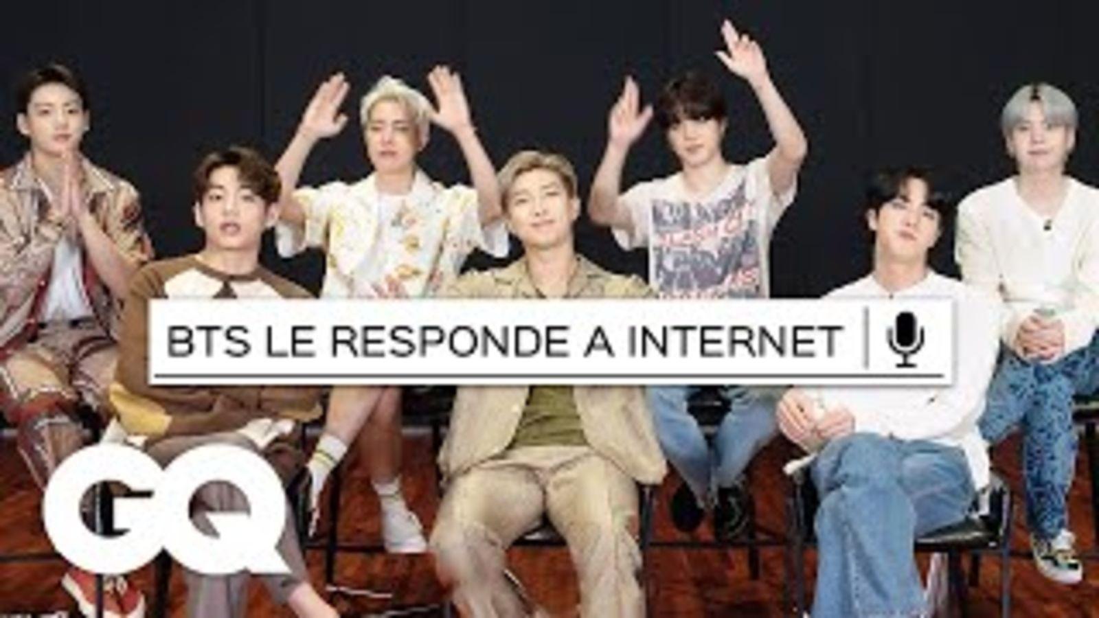 Los integrantes de BTS responden lo más buscado de Internet