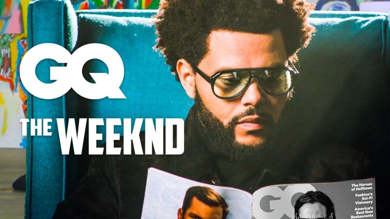 The Weeknd lee GQ hasta que nos vamos del set