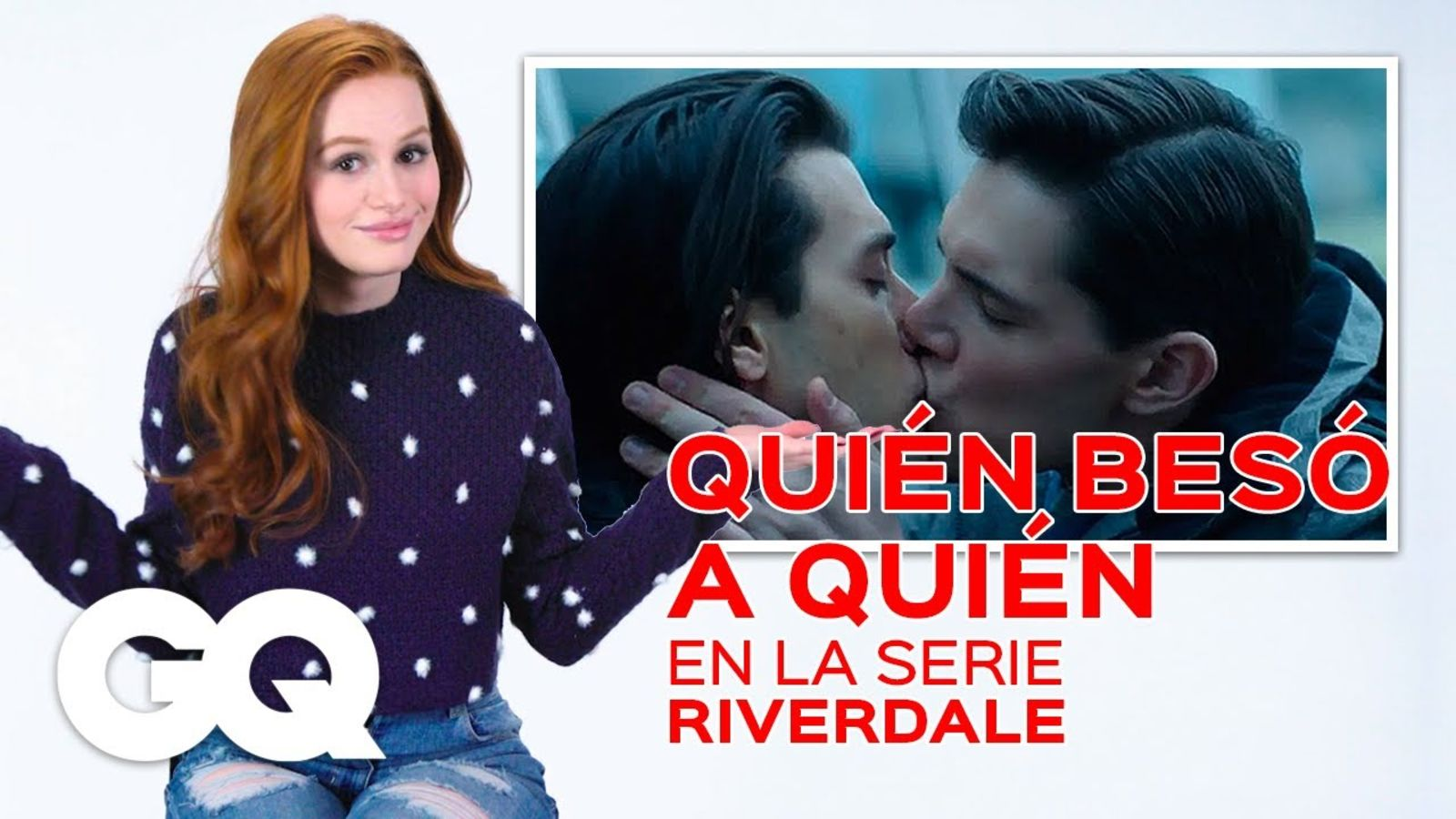 Madelaine Petsch adivina quién besa a quién en Riverdale | GQ México y Latinoamérica