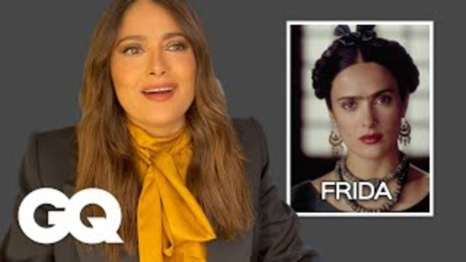 Salma Hayek explica sus personajes más icónicos