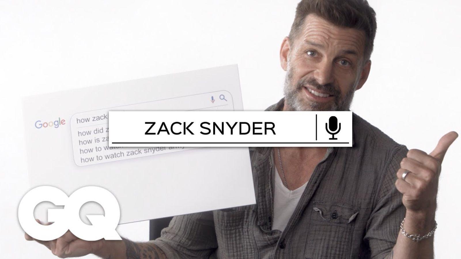 Zack Snyder responde todo de Internet | Lo más buscado | GQ México y Latinoamérica