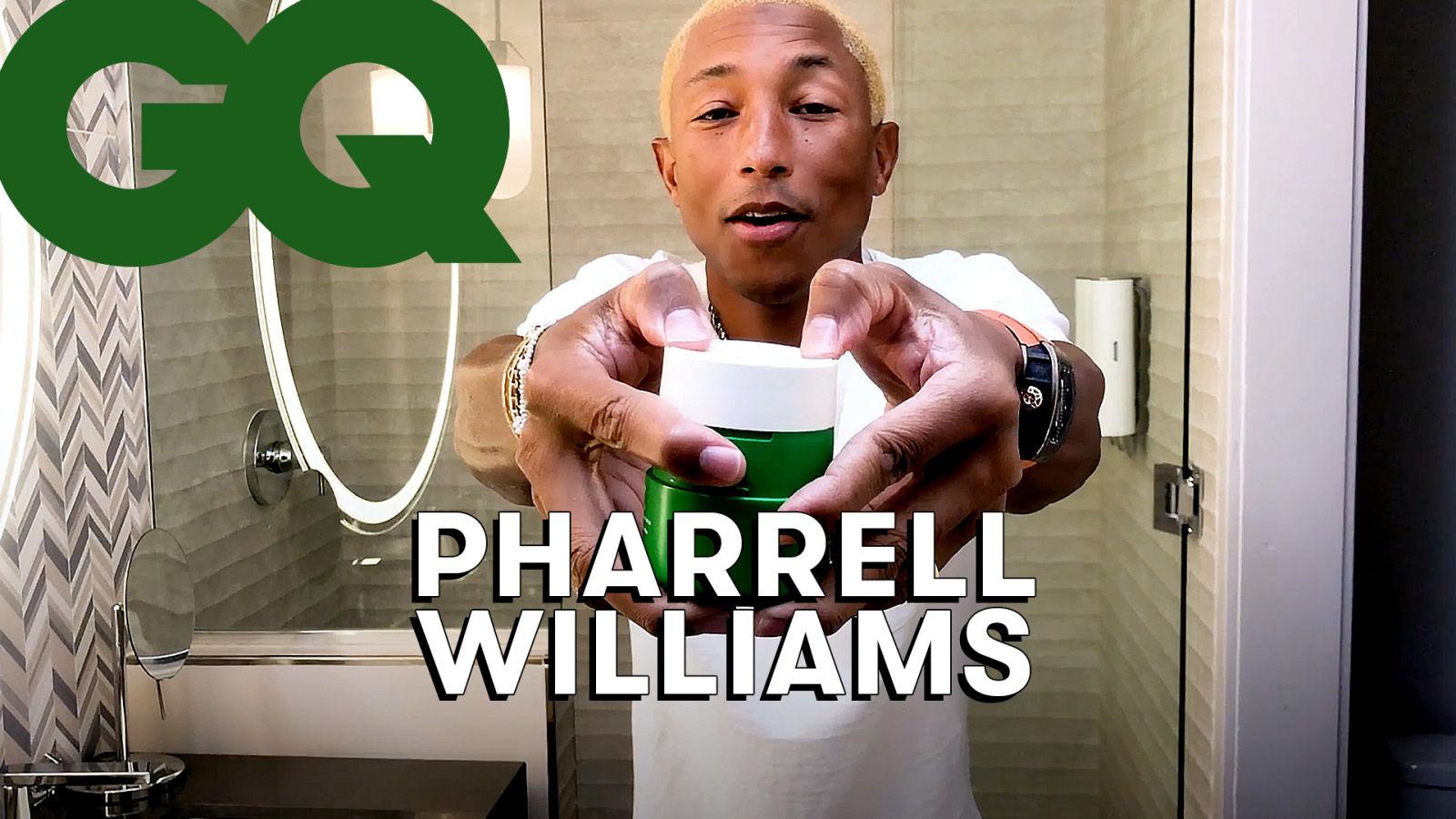 Les astuces de Pharrell Williams pour une peau parfaite