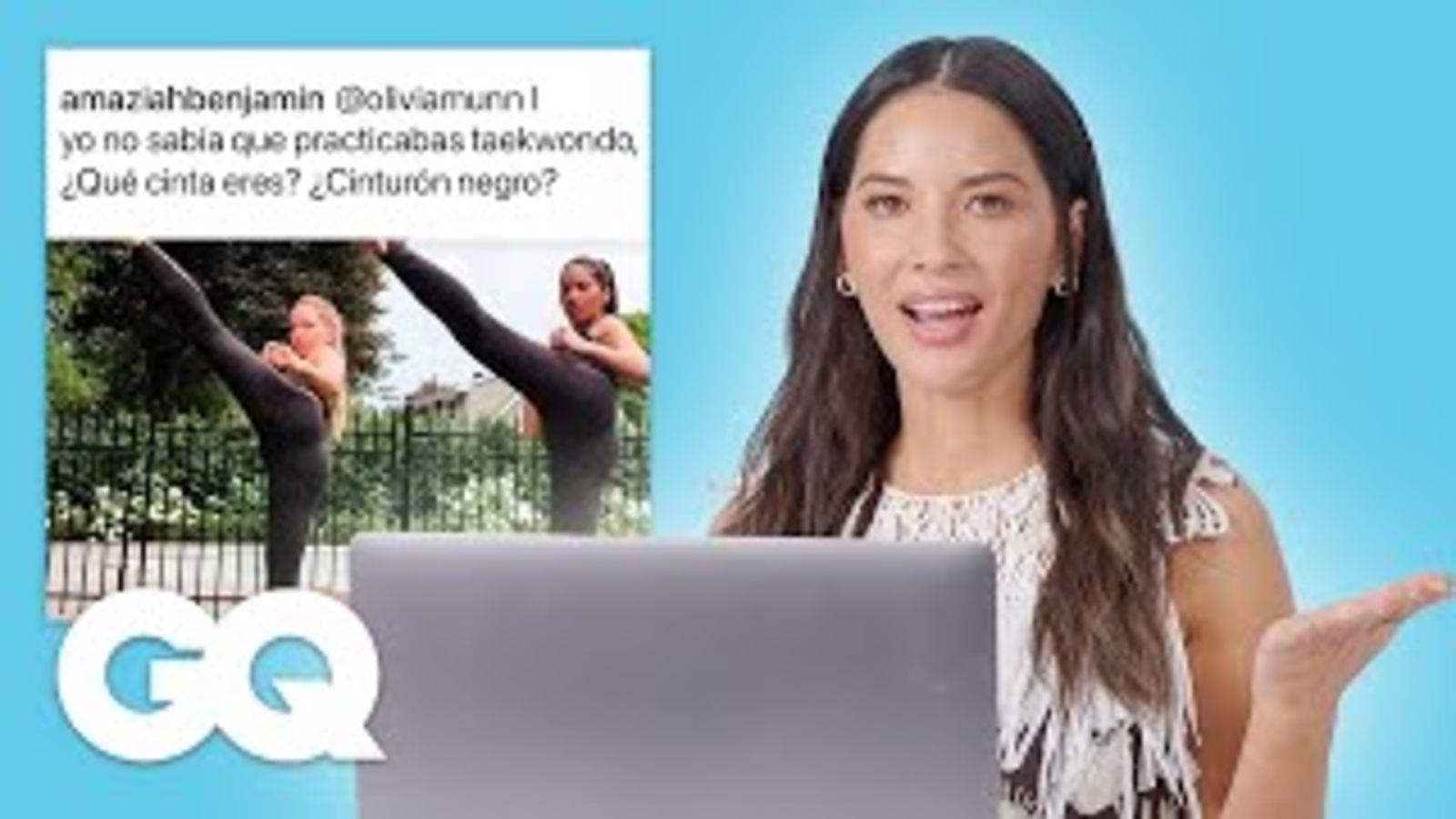 Olivia Munn responde todas las preguntas de Internet