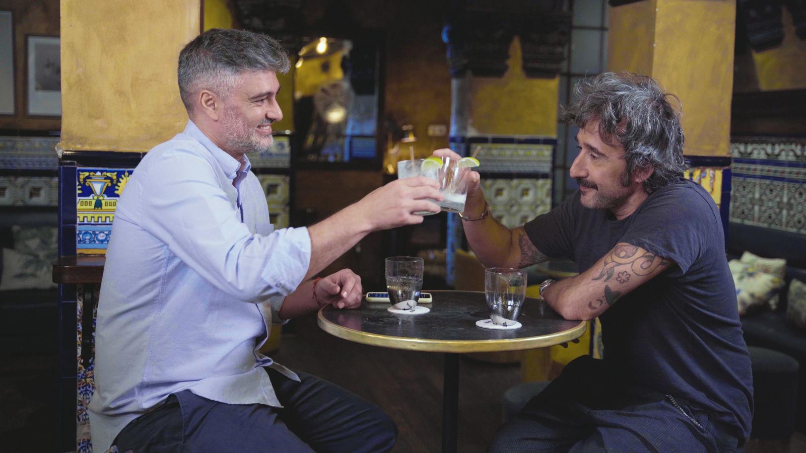 Diego Cabrera y Diego Guerrero: un bartender, un chef y un gin fizz