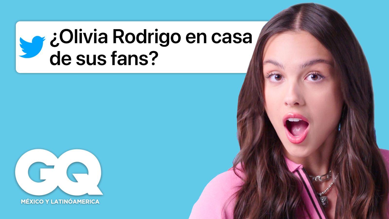 Olivia Rodrigo entra de infiltrada a Internet y responde a sus fans