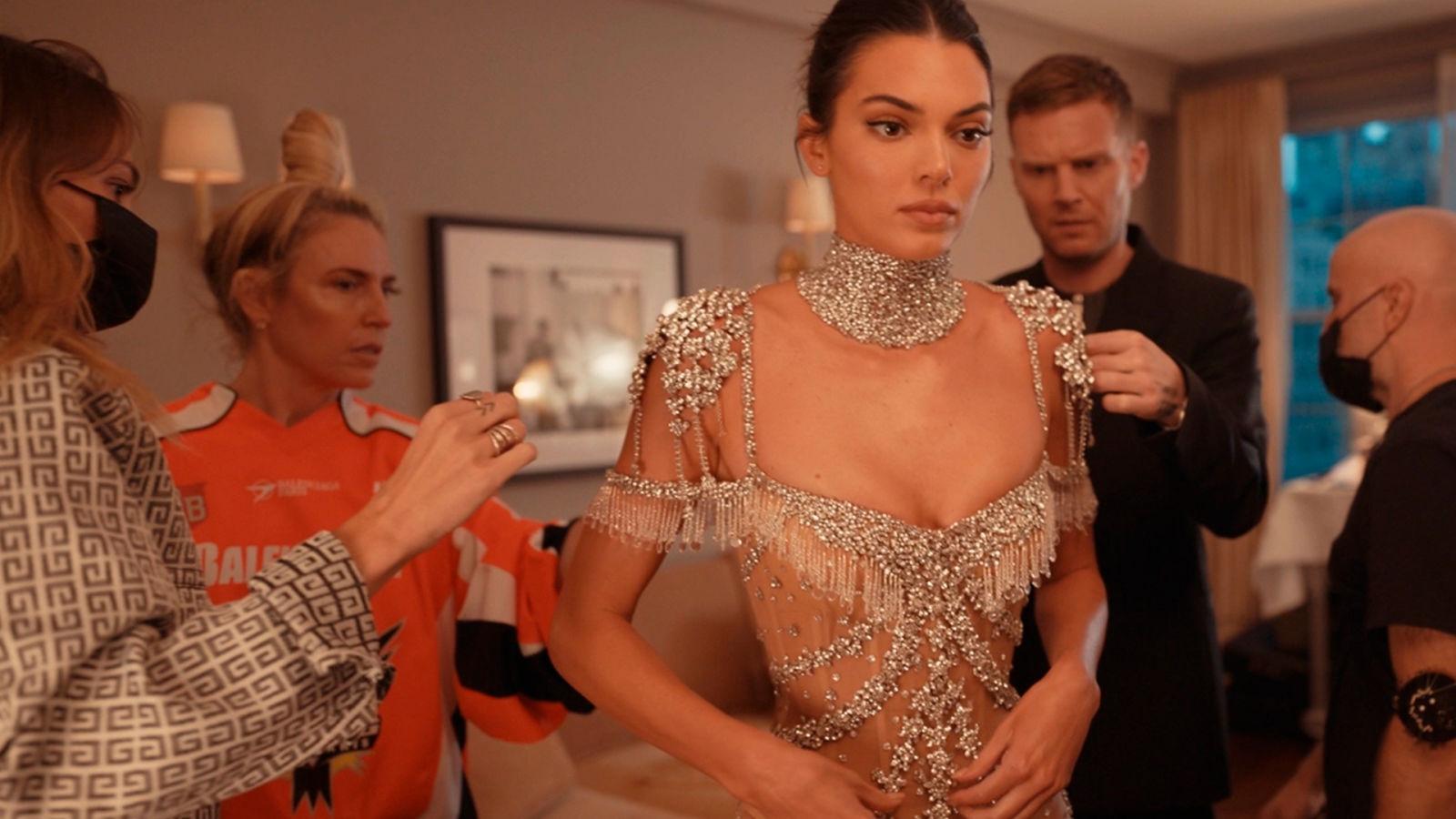 Kendall Jenner: así se preparó para la Met Gala