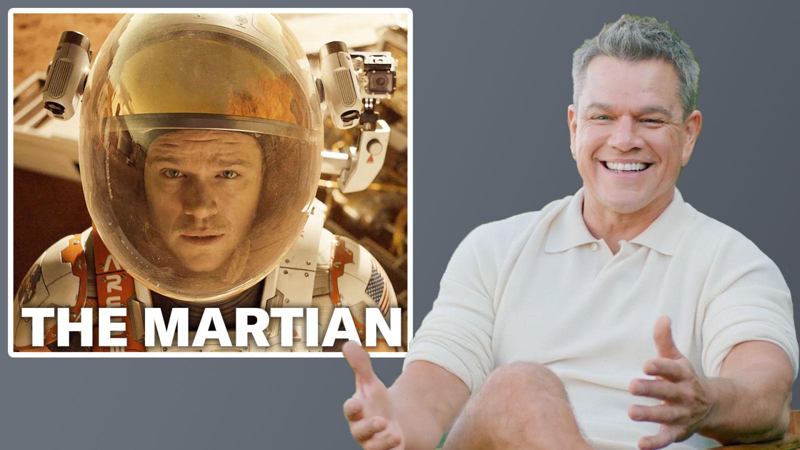 Matt Damon analizza i suoi personaggi più famosi