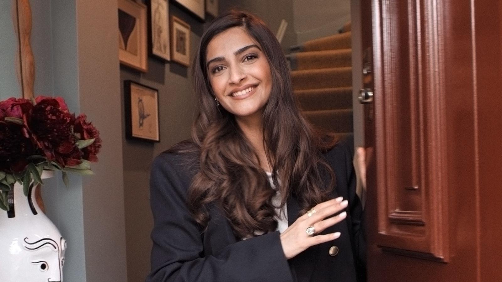 Dentro de la espectacular casa de Sonam Kapoor Ahuja en Londres