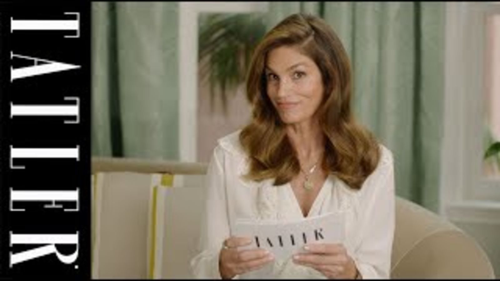 Cindy Crawford for President: Tatler plays Would You Rather