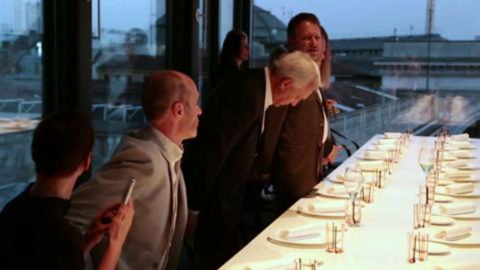Mastercard, a cena con Gualtiero Marchesi