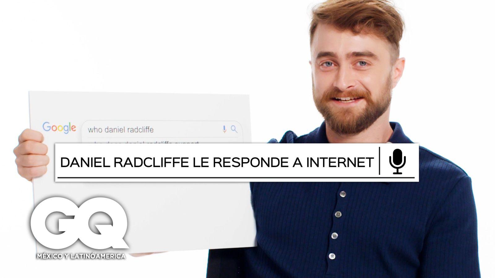 Daniel Radcliffe responde las preguntas más buascadas en Google