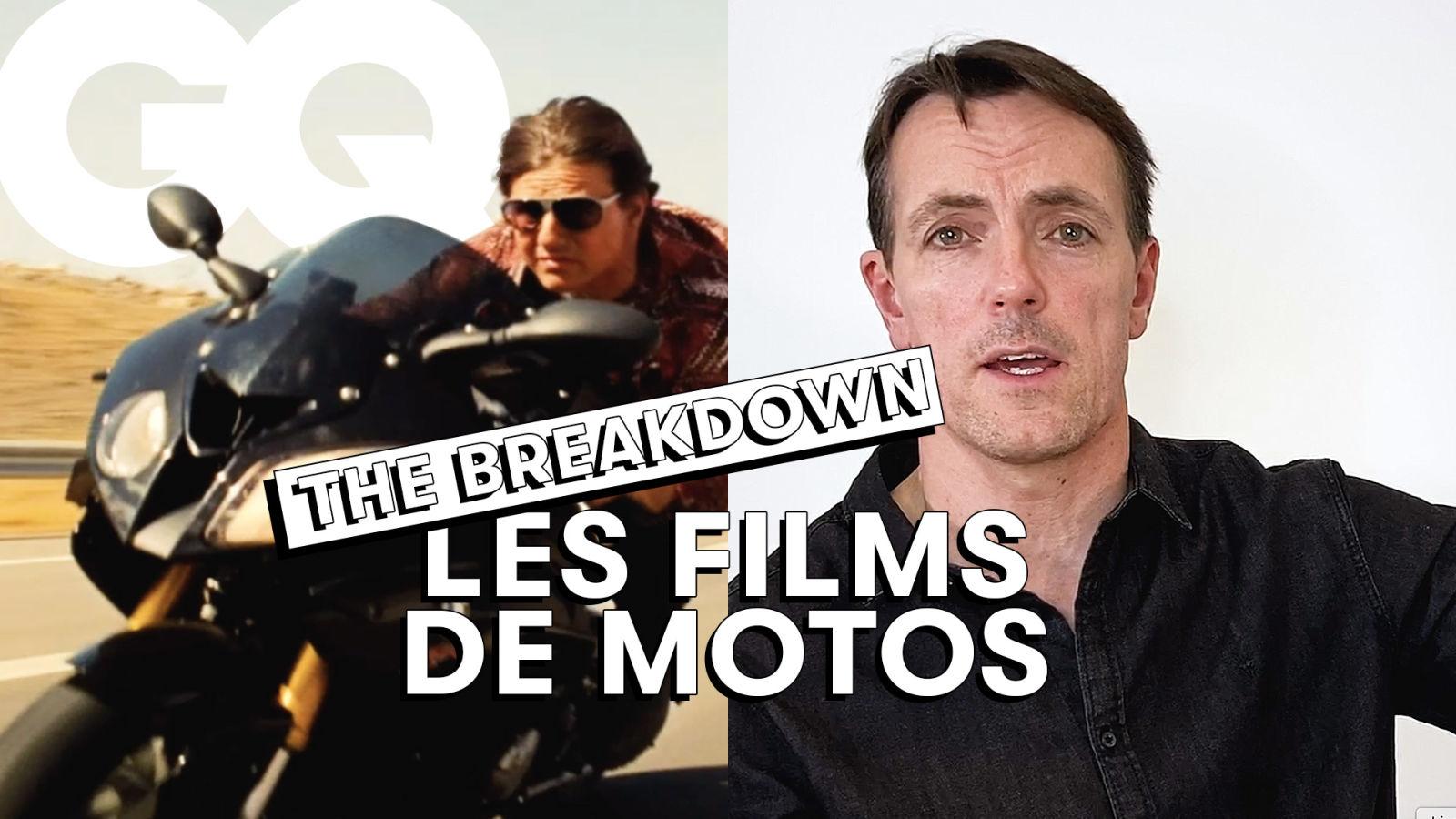 Le cascadeur Rick English décrypte des scènes de motos au cinéma